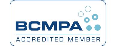 The BCMPA accreditation logo