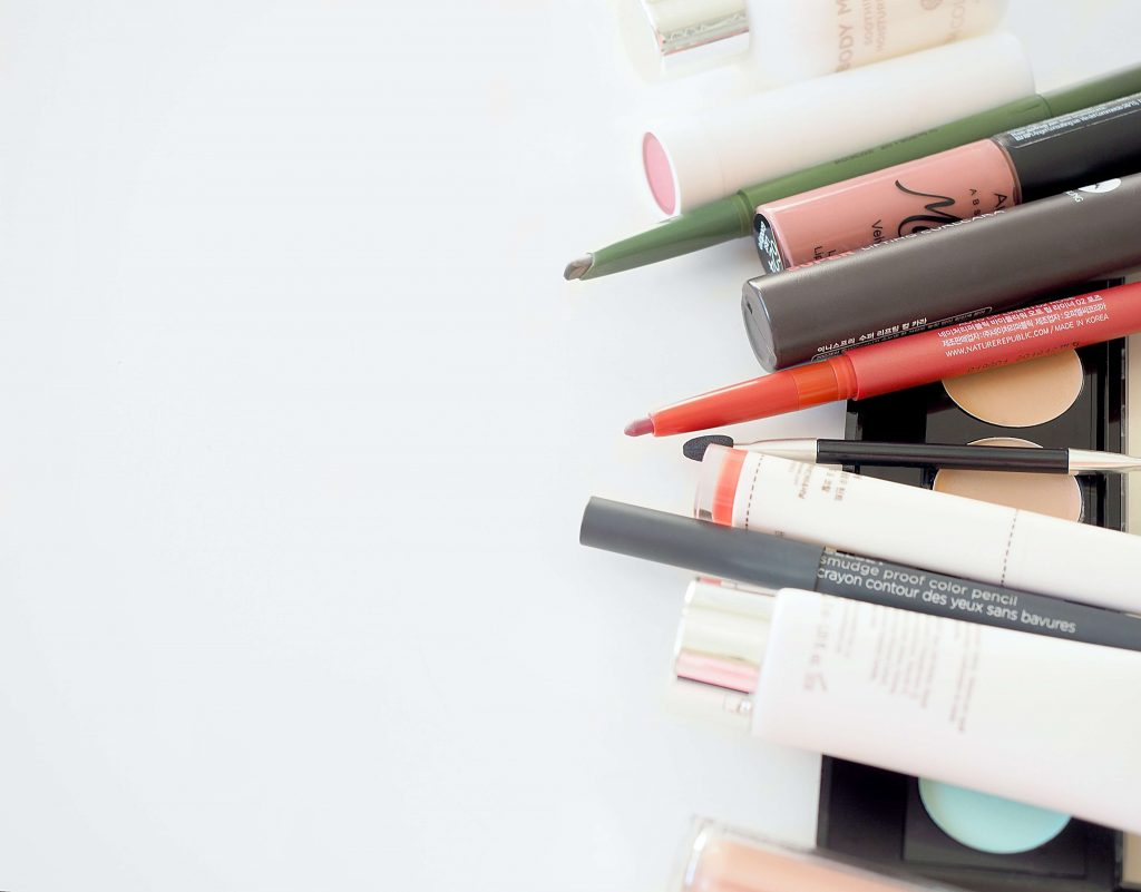 An image depicting cosmetics products to represent the new UK Cosmetics Regulation