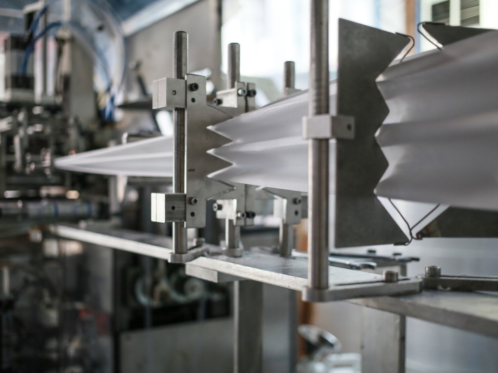 A low-run manufacturing machine in action