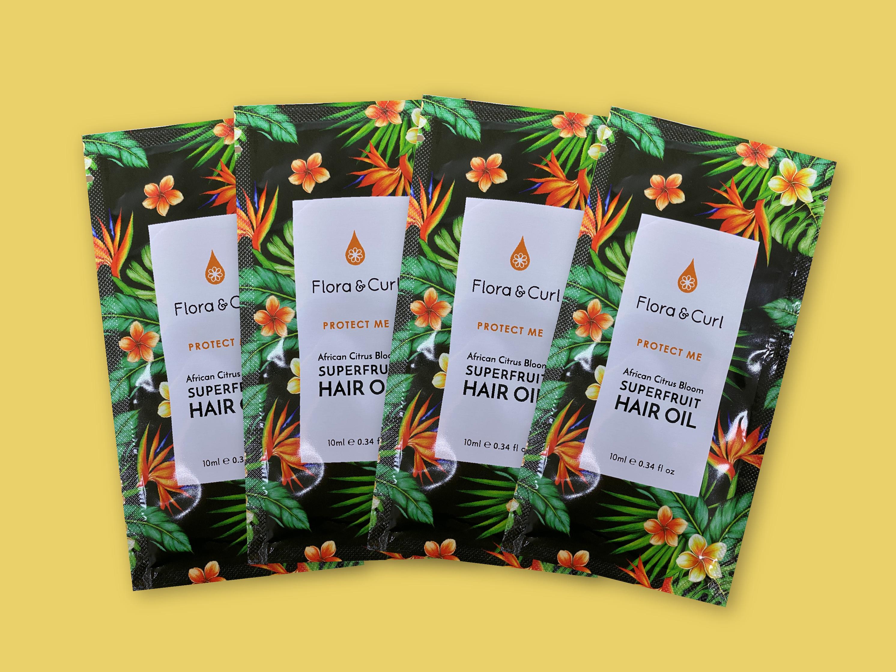 Create an eye-catching sachet packaging design